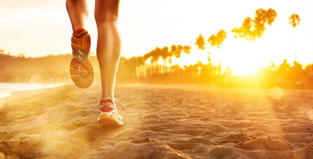 olahraga lari untuk mengecilkan perut
