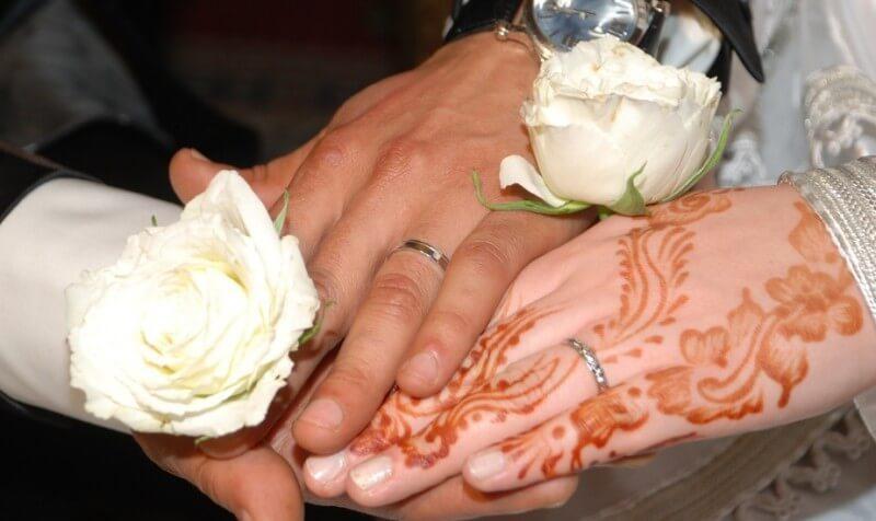 gambar henna tangan pernikahan
