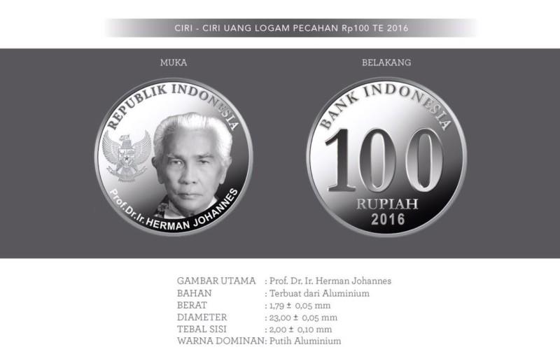 gambar mata uang 100 baru