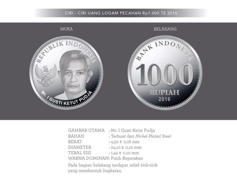 gambar mata uang 1000 baru