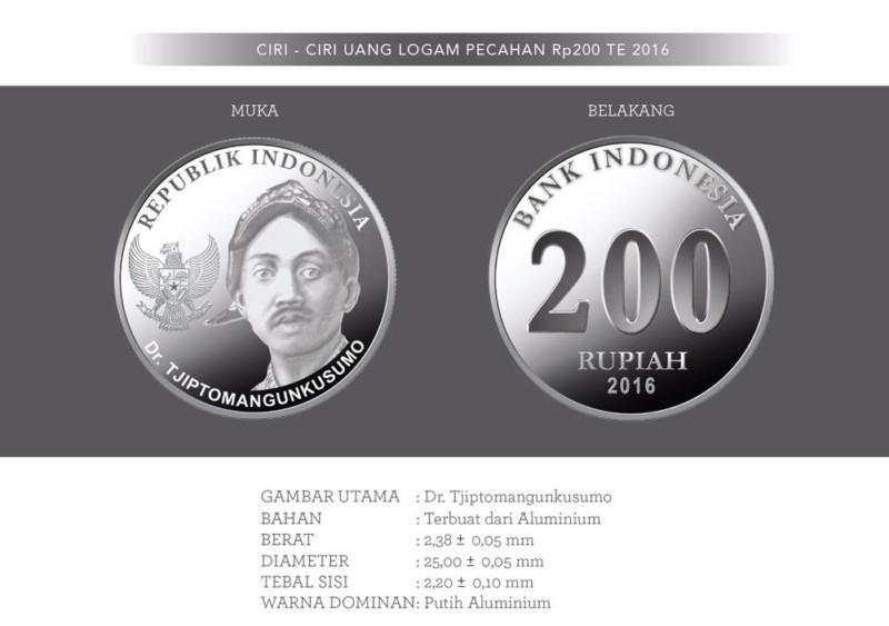 gambar mata uang 200 baru