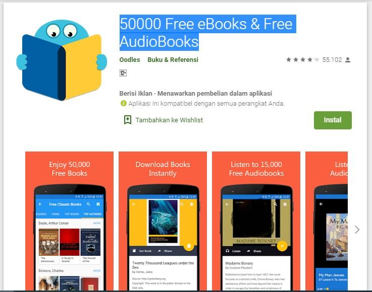 50000 Free e-Books & Audio Books